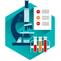 ícone laboratórios