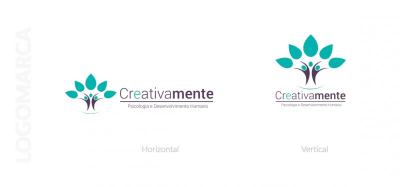 logo clínica creativamente