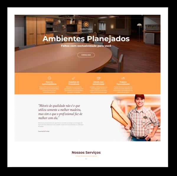 website hampton interiores