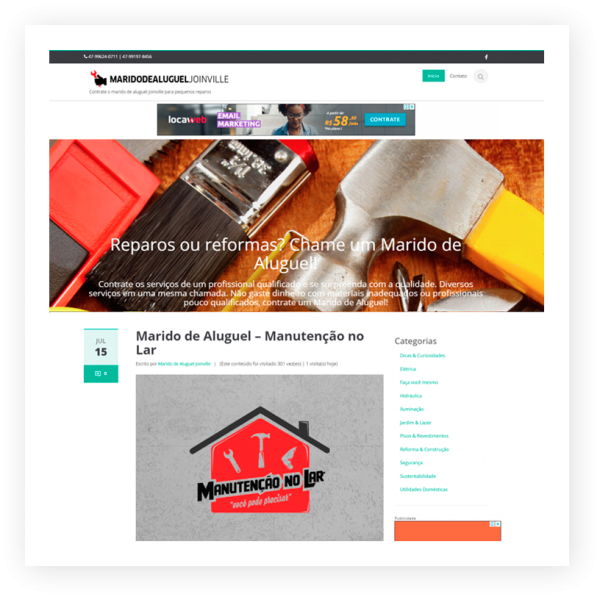 website marido de aluguel joinville