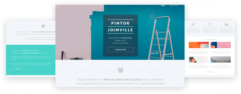 site pintor joinville