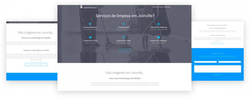site limpeza joinville