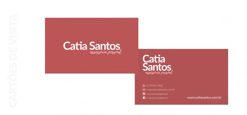 criação de papelaria Catia Santos assessoria pessoal