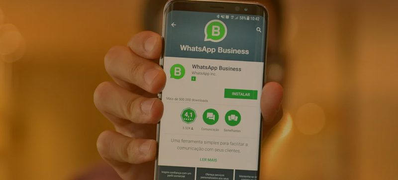 informações do WhatsApp Business