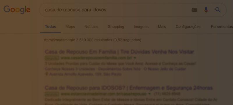 clínica aparecer em destaque no Google
