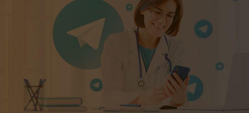 Telegram na clínica