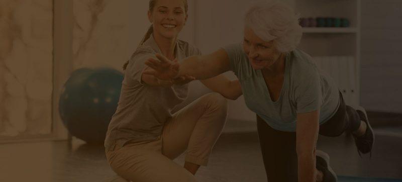 pacientes em clínicas de fisioterapia