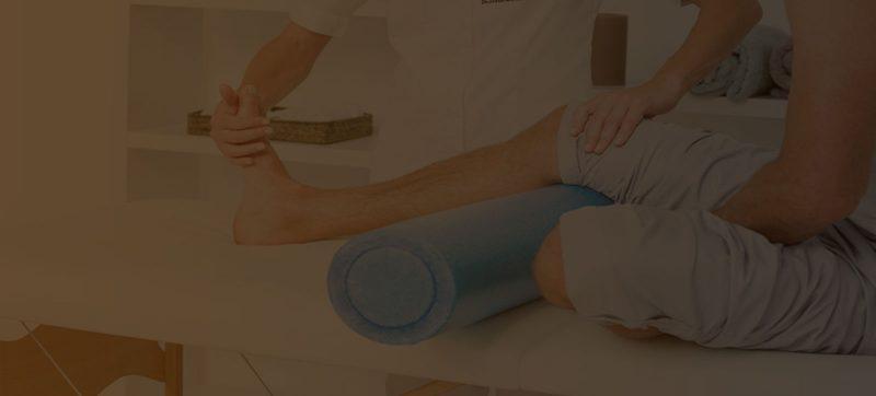 clínica de fisioterapia no Instagram