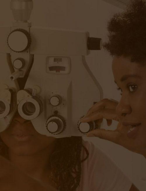 clínica de olhos com o marketing oftalmológico