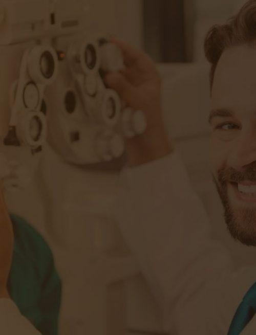 um oftalmologista pode ter novos pacientes